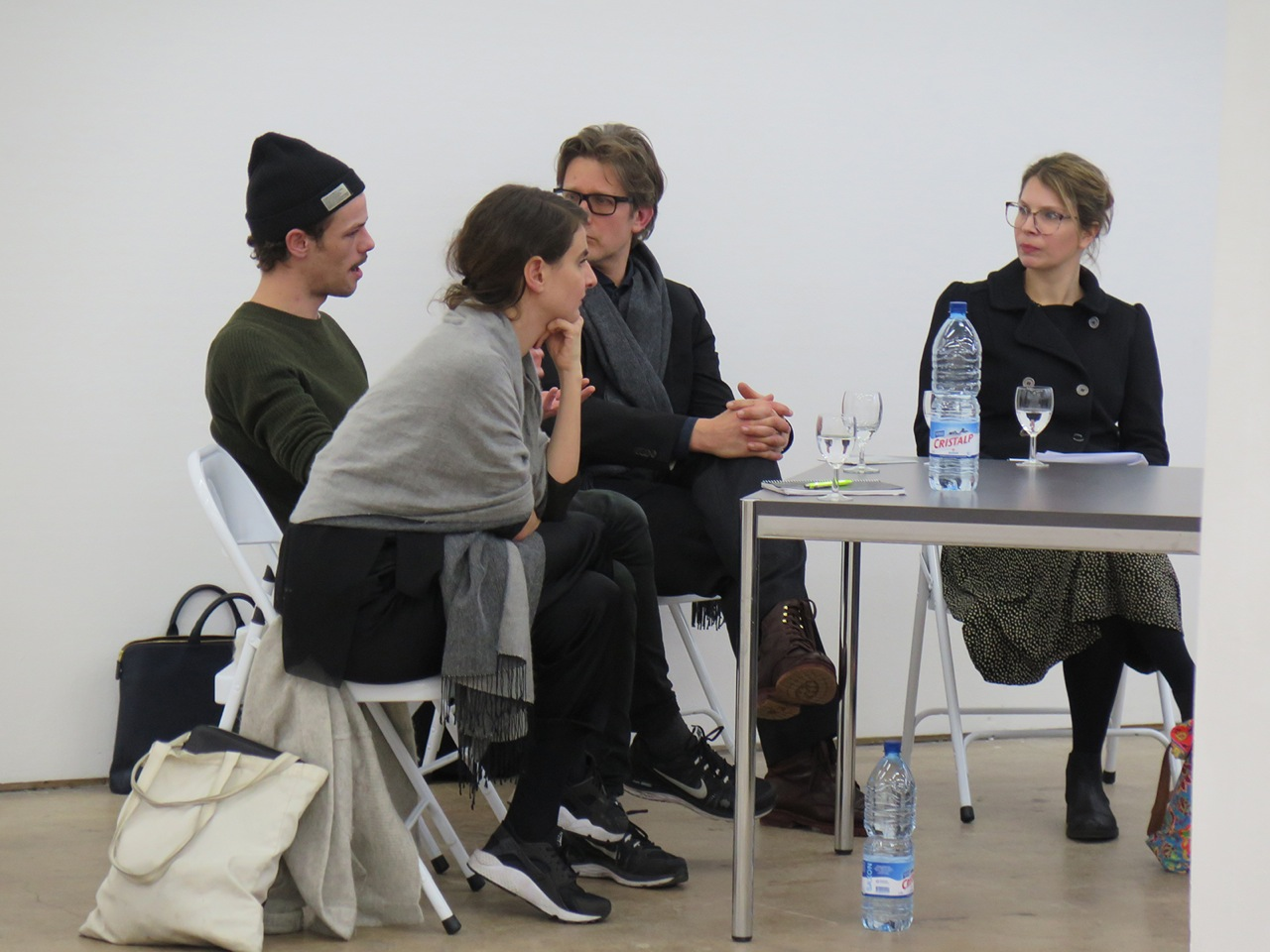 Neujahrsgespräch im Kunstraum Kreuzlingen